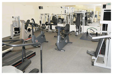 Leisure Club gym - present day