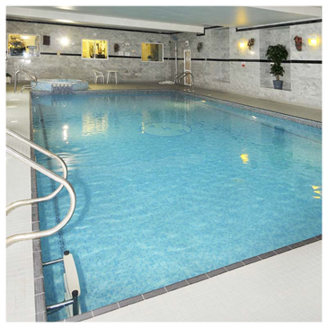 Leisure Club swimming pool - present day